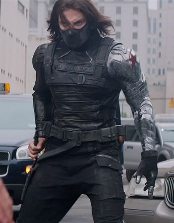 Captain America The Winter Soldier production still