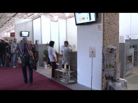 TULIKIVI Praha - trade fair FOR ARCH 2012