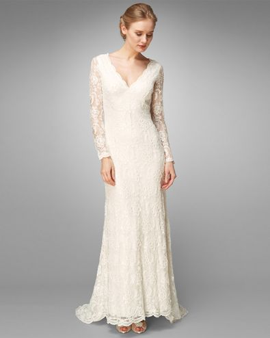 Evelyn Lace Beaded Wedding Dress By Phase Eight