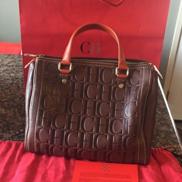 Carolina herrera handbag Brand new and Authentic Carolina Herrera Andy 7 bag comes with Dustbag and Authencity cards! I can go lower on ️️ Carolina Herrera Bags Satchels
