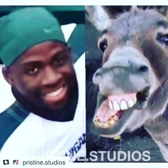 Just look at his mouth  Draymond Green taking Ls on the football field [] Via @pristine.studios  #draymondgreen #fanpage #nba #warriors  #celtics #cavs #spurs #okc #memphis #mavericks #rockets #sackings #clippers #bulls #lakers #timberwolves #blazers #raptors #nuggets #magic #hawks #kobebryant #curry #klaythompson #michaeljordan #kingjames #durant #sneakers #splashbrothers