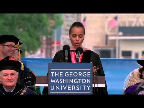 GW Commencement 2013: Kerry Washington - http://maxblog.com/11471/gw-commencement-2013-kerry-washington/