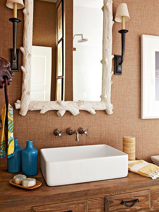get everything you want your small bathroom to have by following these simple space solutions