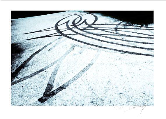 Heart Tracks © snowy valentines day tracks by SwankyPhotographic