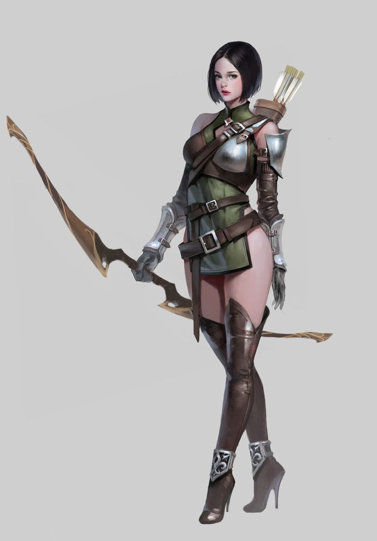 Really. And Fantasy female archer think