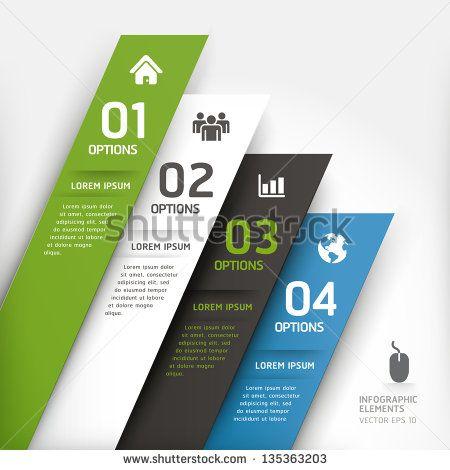 Современный шаблон элемент дизайна.  Векторная иллюстрация.  может быть использован для размещения рабочего процесса, диаграммы, Настройки Количество, активизировать опции, веб-дизайн, инфографика.