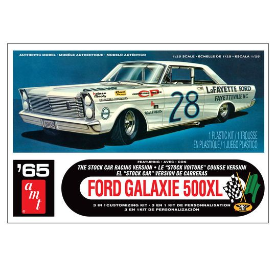 AMT® 1965 Ford Galaxie Stock Car