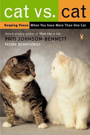 "Cat vs. Cat~ Although cats are often misunderstood as natural loners, Johnson-Bennett shows how to plan, set up, and maintain a home environment that will help multiple cats—and their owners—live in peace. Cat vs. Cat will help readers understand the importance of territory, the specialized communication cats use to establish relationships and hierarchies, and how to interpret the so-called ""bad behavior"" that leads so many owners to needless frustration."