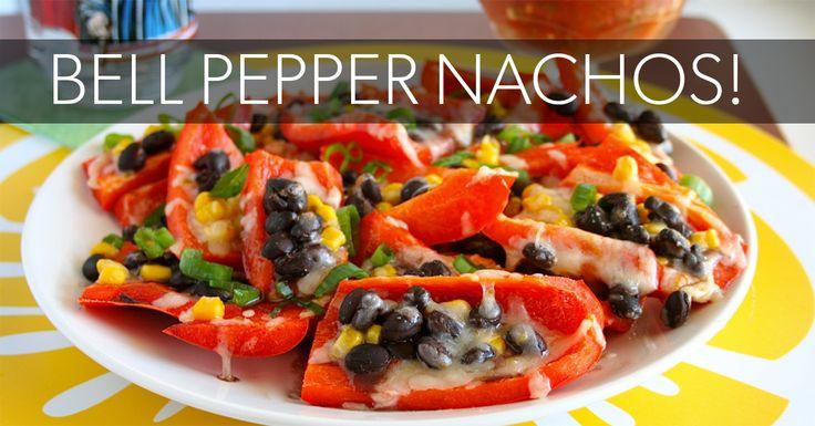 Bell Pepper Nachos! - Eat. Fit. Fuel.