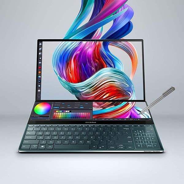 Asus Zenbook Pro Duo Dual Screen Laptop Gadgetsin Asus Intel Core Laptop Cheap