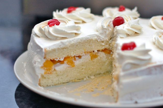 A classic Chinese-style bakery cake is a sponge cake that has a fruit or mousse-like filling, real whipped cream and fresh fruit decorations. Description from inmahkitchen.blogspot.com. I searched for this on bing.com/images