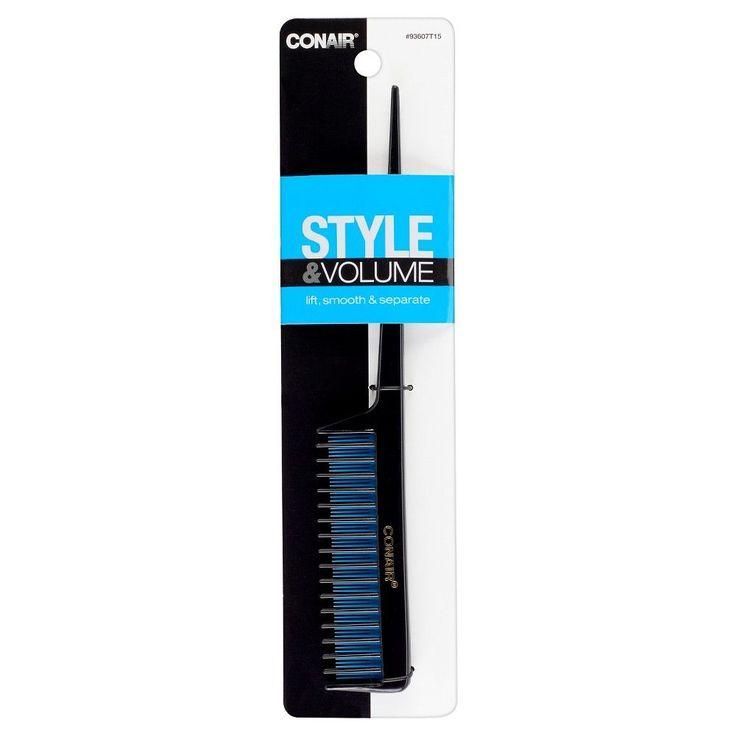 Conair Lift and Tease Comb, Black