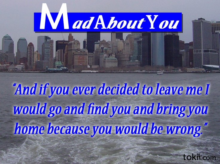 mad about you episode they meet