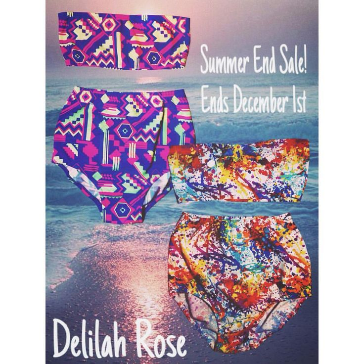 Summer might be long gone but doesn't mean you can't stock up for next year! ☀️ The lovely @delilahrose00 is having a Summer End Blowout Sale!  Aztec Print Swim Sets - 30.00$  Paint Splash Swim Sets - 40.00$  Buy 2 sets and receive a promo code for 'Custom Orders', Promo code is: DRXOX (All capitalized)  www.drose.ca  Sale ends December 1st; It is open internationally. But to all my O-Town people- Message Rose so she can deliver your purchase straight to you, to avoid shipping costs…