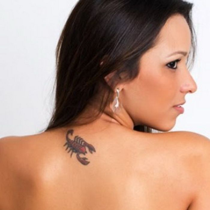Small Scorpion Tattoo for Women