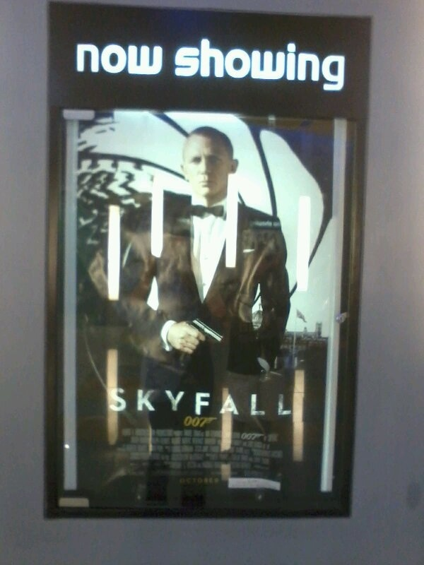 I just watched this last night. So good! Def. one of the best Bond films ever.