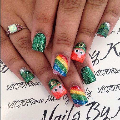 Festive St. Patrick's Day Nail Ideas - Crafty Morning