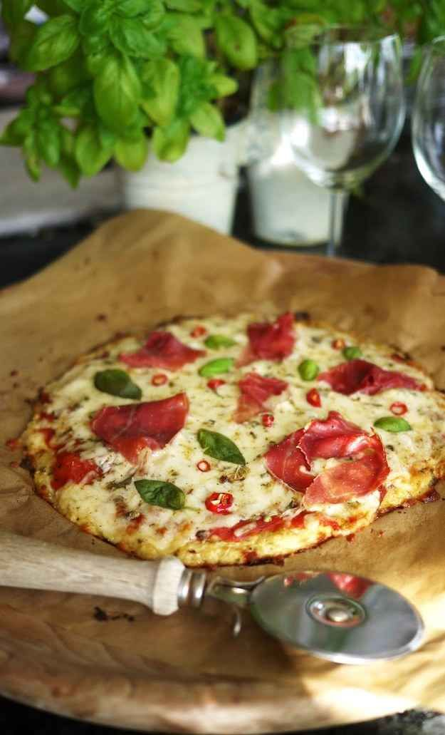 The day you make the perfect cauliflower pizza crust is literally the best day of your life.