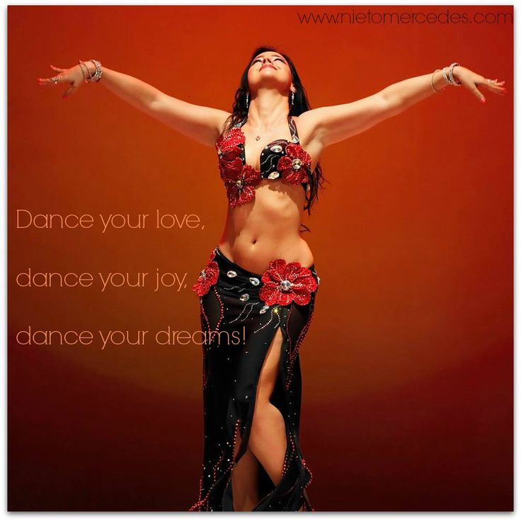 Dance your love, dance your joy, dance your dreams! Mercedes Nieto