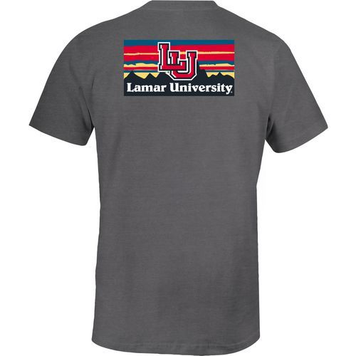 Image One Women's Lamar University Comfort Color T-shirt (Grey, Size Small) - NCAA Licensed Product, NCAA Women's at Academy Sports