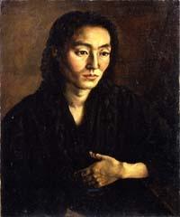 「画家の妻」岸田劉生
