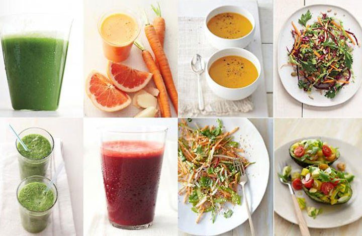 Best Detox Diet Menu for Morning and Lunch