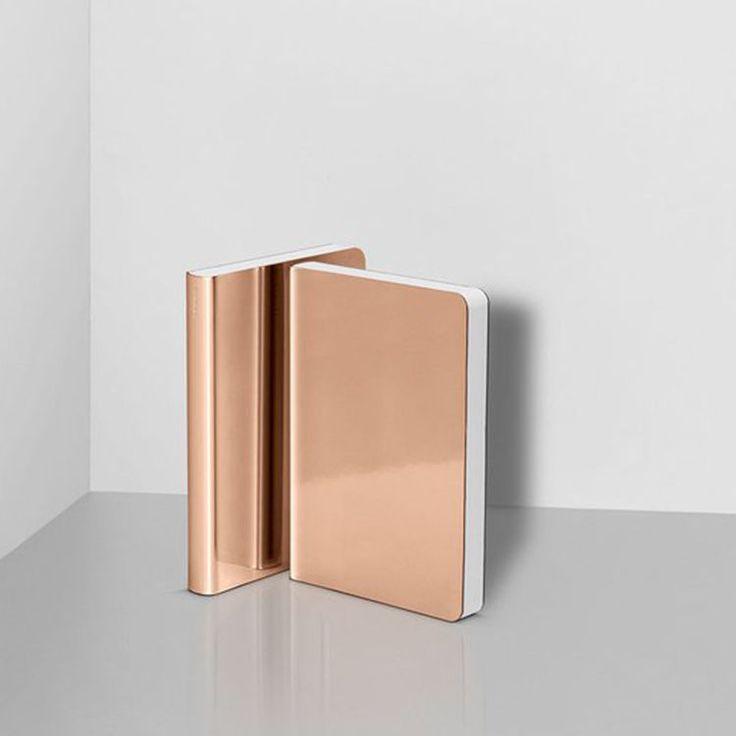 Nuuna Notebook in Reflective Metallic Copper | Home, Furniture & DIY, Stationery & School Equipment, Binders & Notebooks | eBay!