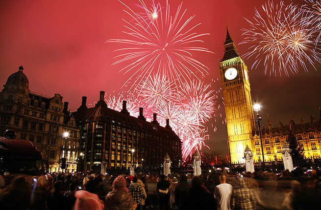 The 19 Best Cities For New Year S Eve Celebrations New Year S Eve In London London Fireworks Celebration Around The World