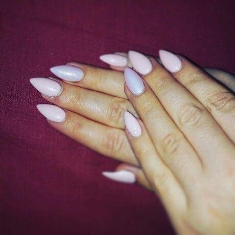 #nails #pinknails #glitter #purple #purplenails