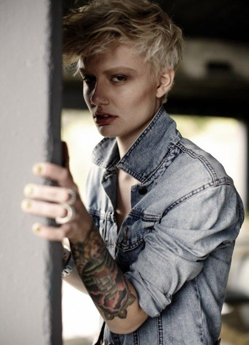 the 25 best tomboy tattoo ideas on pinterest women 39 s tomboy style androgynous and. Black Bedroom Furniture Sets. Home Design Ideas