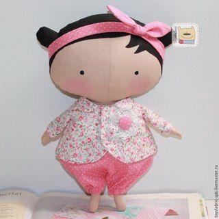 Авторские текстильные куклы ручной работы   VK