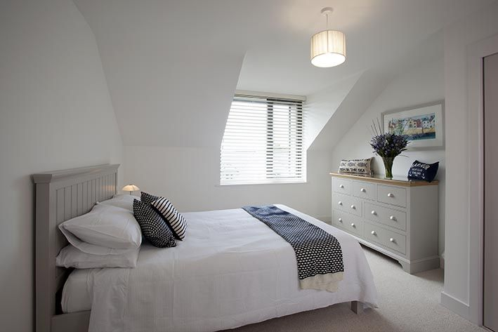 Master bedroom with ensuite at Clifden