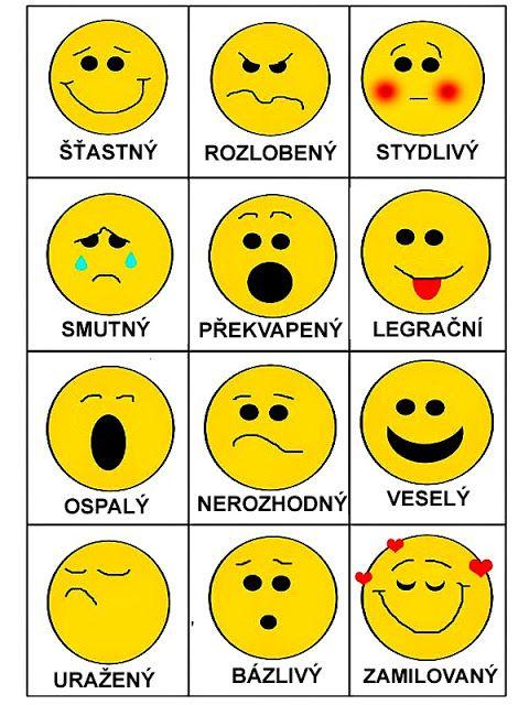 Smajlíci - emoce