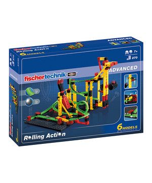 Encourage little ones' imaginations with this exciting and engaging model set. With tons of pieces to build unique ball obstacle courses, kids can make balls roll, shoot through loops, go up elevators, catapult and more. A great tool for creativity, it also boosts logical thinking and an understanding of how things work.