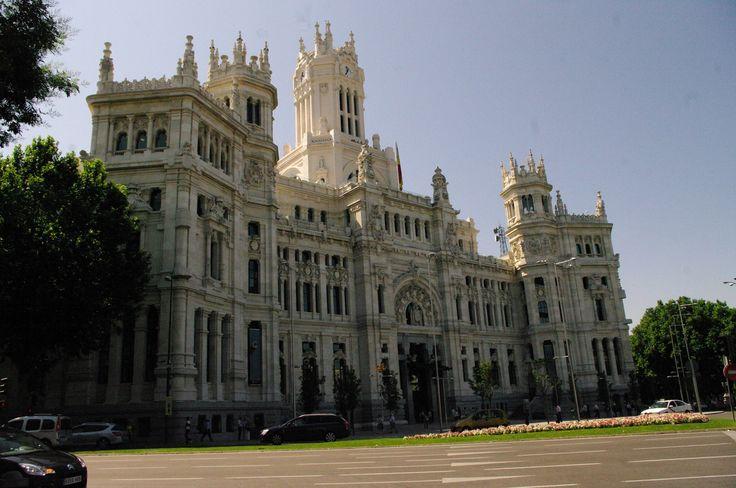 Fotos de: Madrid - Paso a Paso - Ayuntamiento de Madrid - edificio con e...