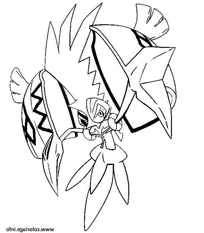 Tokorico Pokemon Soleil Lune Coloriage Pokemonsoleilecaillecoeur