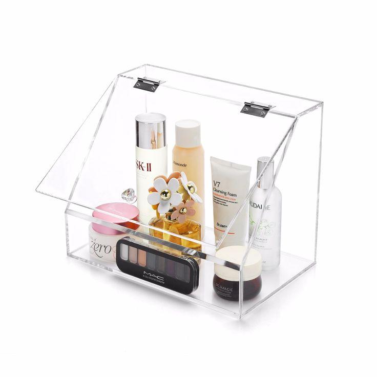 M Big Size Acrylic Cosmetics Box Lipstick Storage Acrylic Container  Cosmetic Storage Organizer Powder Organizer Drawer CaseC137