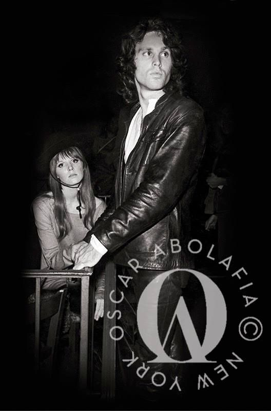 New rare photo of Jim Morrison with Pamela Courson at the Cheetah Club NYC 1967  sc 1 st  Pinterest & 998 best Jim Morrison / The Doors images on Pinterest | The doors ...
