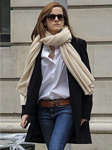 Look de tous les jours ! Parfait - Emma Watson -