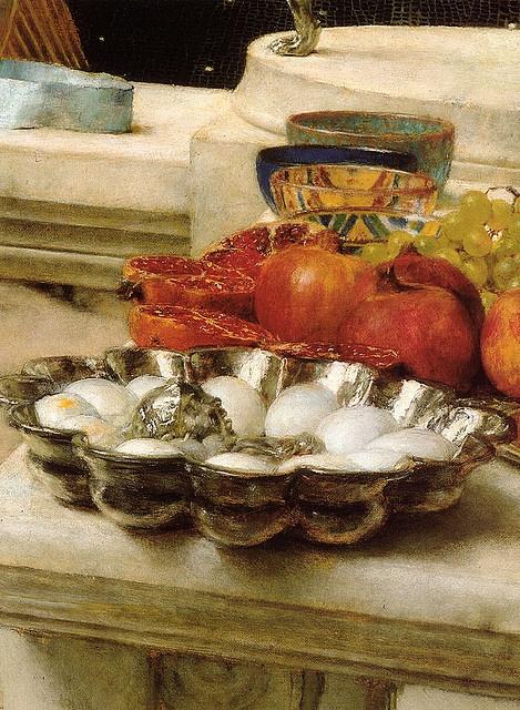 Lawrence Alma-Tadema. 1912.