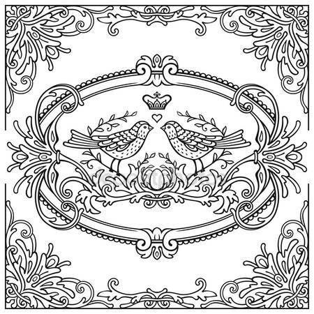 Downloaden - Sierlijke vintage etiketten — Stockillustratie #127163680