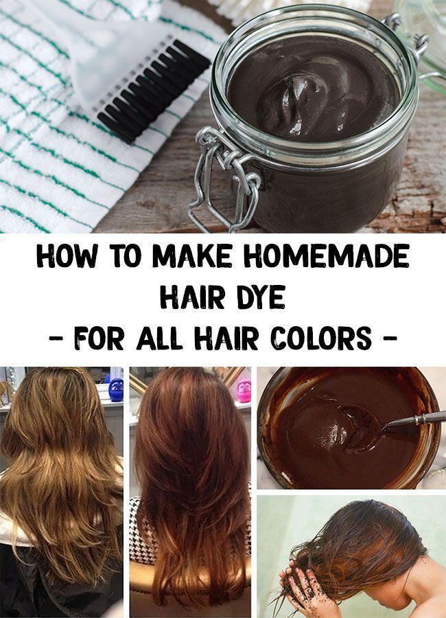 Hair Dye How To Make Homemade Hair Dye For A Beautiful Hair Homemade Hair Dye Homemade Hair Products Dyed Natural Hair