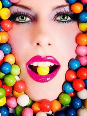Oh So Juicy......: Candy Theme Part 2: Makeup