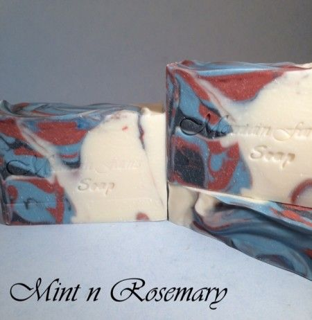 Mint n Rosemary Soap | Mountain Farms Soap