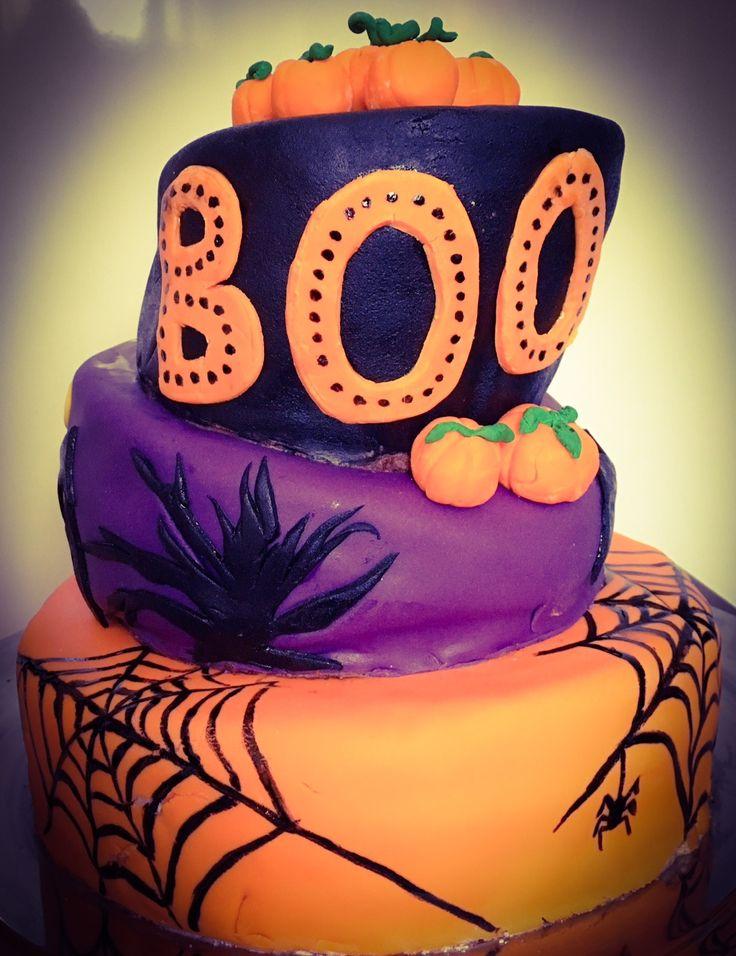 Marsa's Halloween cake 2017