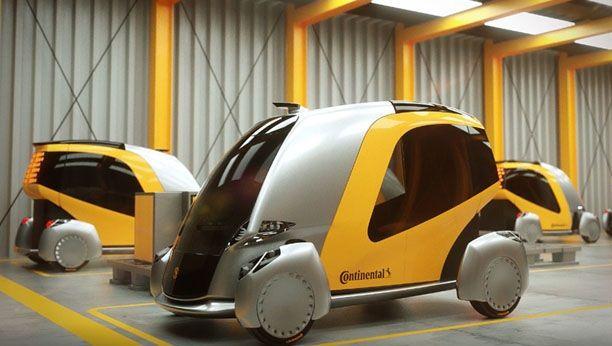 El diseño  conceptual 'BEE' Continental presenta  un transporte  urbano limpio y seguro