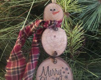 Estrellas de Navidad primitiva Clothespin de por PrimitivePics
