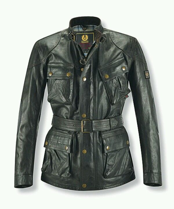 Belstaff men's motorcycle jacket