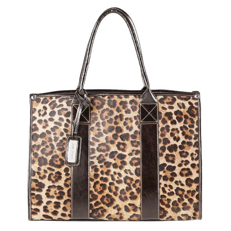 Attavanti - Arcadia Rupia Large Leopard Print Tote Handbag, £199.00