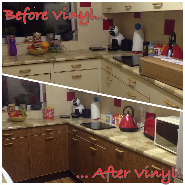 75 Best Images About Sticky Vinyl Fablon Kitchens On Pinterest